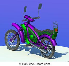 fahrrad, motor