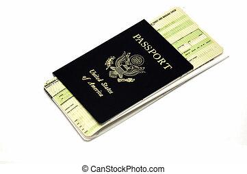fahrschein, reise