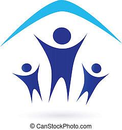 Familie unter Dach - Icon