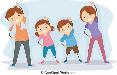 Familienübung