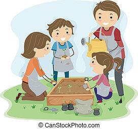 Familienanpflanzung
