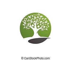 Familienbaum-Logo-Vorlage.