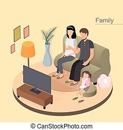 Familienkonzept.