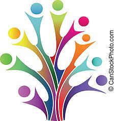 Familienstammbaumsymbol