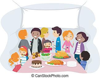 Familientreffen
