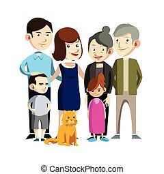 Familienzusammenführung.