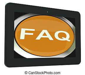 FAQ-Tabelle zeigt häufig gestellte Fragen.