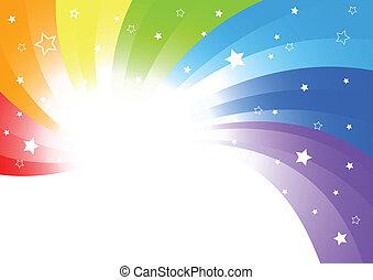 farbe, abstrakt, vektor, hell, hintergrund