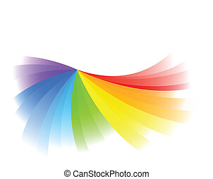 farbe, hell, vektor, hintergrund