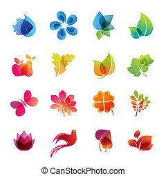Farbige Natur-Ikone