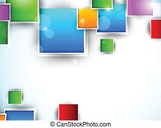 Farbige Quadrate