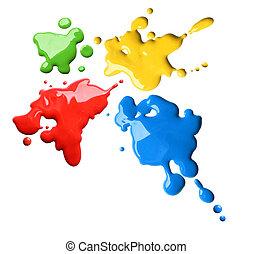Farbspritzer