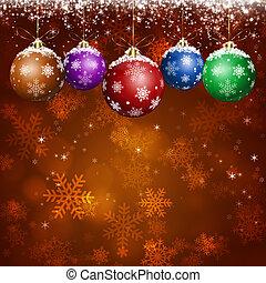 feiertag, gruß, weihnachten, karte, rotes
