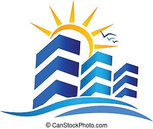 Ferienwohnungen und Liegenschaft Logo.