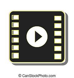 film, spieler, medien, video