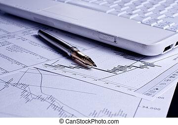 finanz, analyse, tabellen