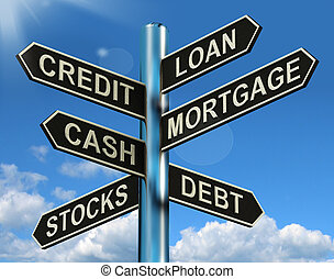 finanz, hausfinanzierung, wegweiser, darlehen, entlehnung, kredit, schuld, ausstellung
