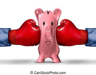 Finanzgelddruck