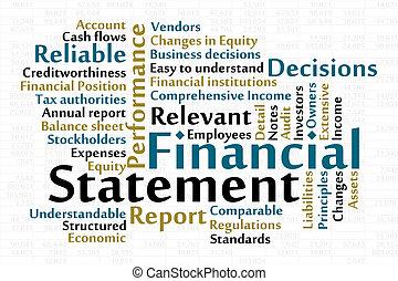 Finanzielle Erklärung