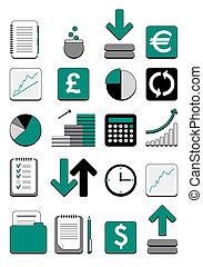 Finanznetz-Ikone