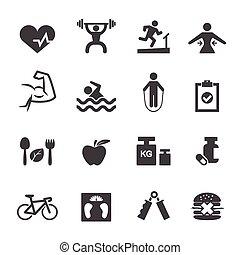 fitness, ikone