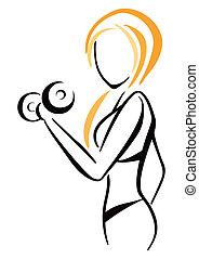 Fitnesssymbol