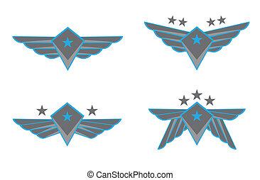 Flügelvektor Illustration