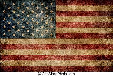 flag., amerikanische