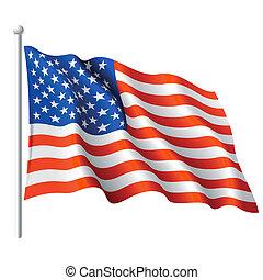 Flagge der USA.