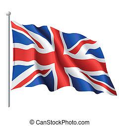 Flagge des vereinten Königreichs