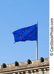 Flagge Europas.