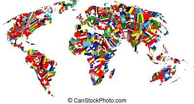 Flaggenkarte