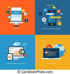 Flat Icons für die Webentwicklung
