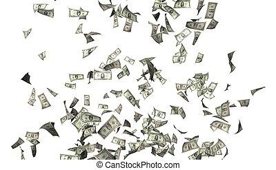 fliegenden geld