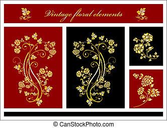 floral elemente