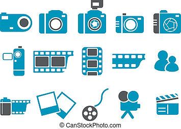 Foto-Icon Set.