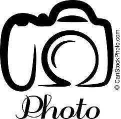 fotokamera, emblem