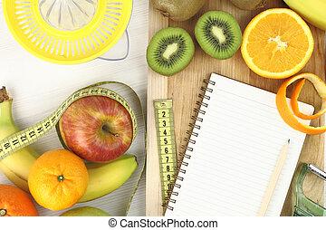 Früchte und Diät