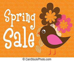 Frühjahrsverkauf