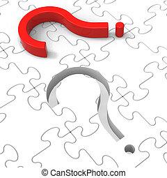 frage, puzzel, markierung, fragen, shows, fragen