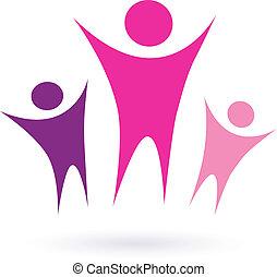 Frauengruppe / Community Icon