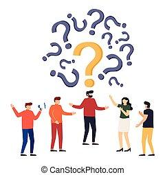 frequently, fragte, marks., ungefähr, leute, frage, fragen