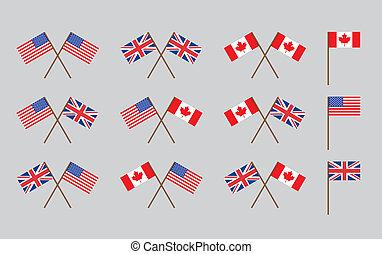 Freundschaftsflaggen