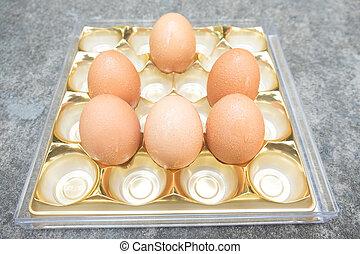 frisch, eier