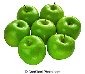 Frische Oma-Äpfel