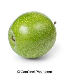 Frischer, grüner Granny Smith Apfel.