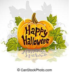 Frohes Halloween, Kürbis