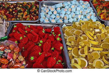 Fruchtfleisch für Kinder.