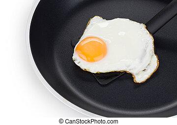 Gebratenes Ei.