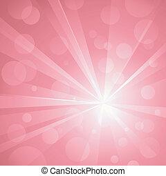 gebrauch, punkte, explosion, linear, pink., nein, schatten, abstrakt, global, hintergrund, licht, schlagend, gruppiert, colors., transparencies., strahlig, kunstwerk, glänzend, layered., gradients